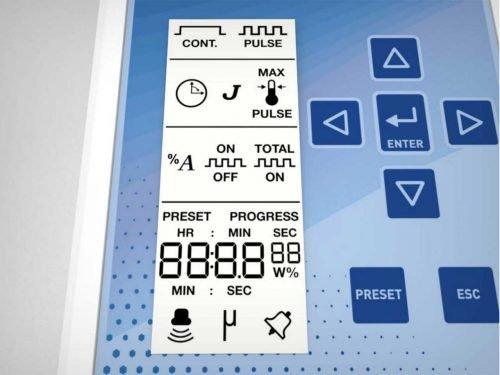 Sonifier LCD Description
