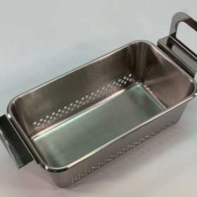 Perforated tray, 100-410-162 for use with Branson model 2800 ultrasonic cleaner