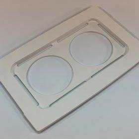 Beaker cover, 100-032-518, for use with Branson model 2800 ultrasonic cleaner