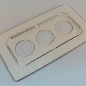 Beaker cover, 100-032-528, for use with Branson model 3800 ultrasonic cleaner
