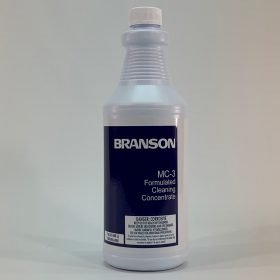 Branson MC-3, Metal Cleaner cleaning concentrate