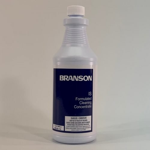 Branson IS, industrial strength cleaning concentrate